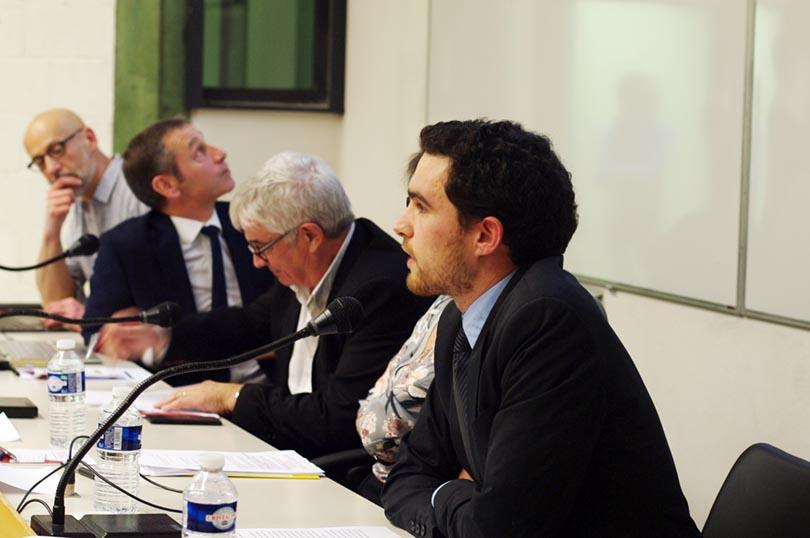 M. de Montvalon, doctorant à UT1 et ancien étudiant du M2 DSTE